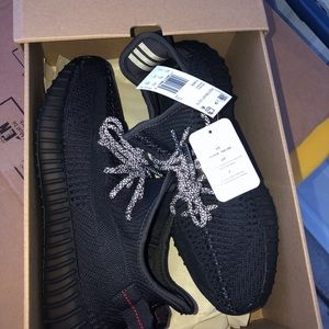 adidas Shoes - Yeezy Boost 350 V2 Black Non Reflective